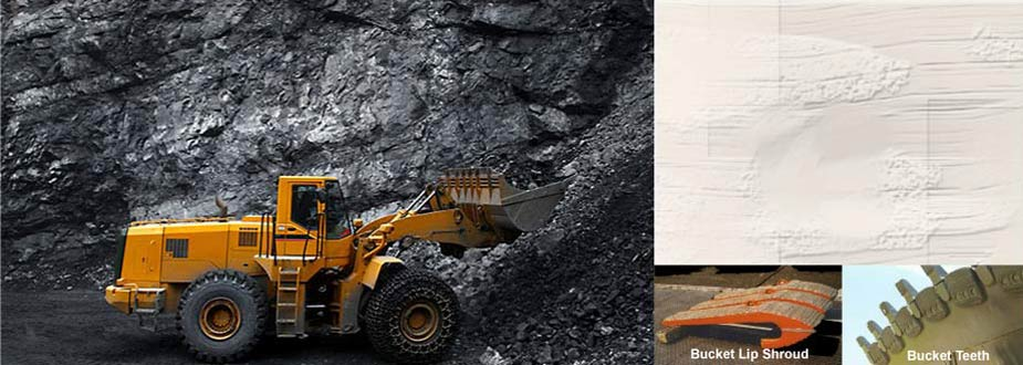 Coal Mining and hardfaced products